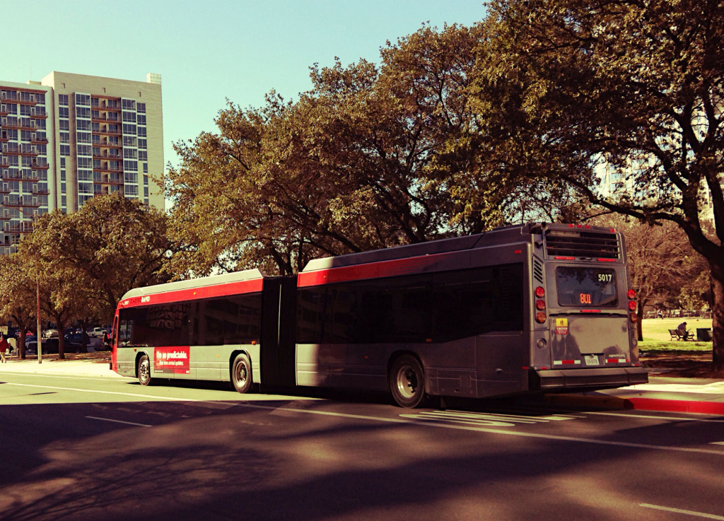 102 Austin traffic fatalities in 2015 would fill this MetroRapid 801 bus