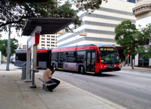Austin MetroRapid station (CapMetro)